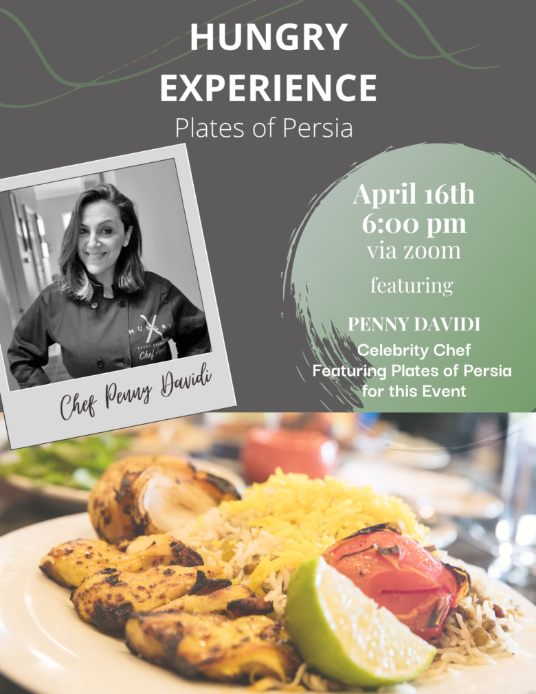 Copy Of Plates Of Persia Celebrity Chef Cooking Class